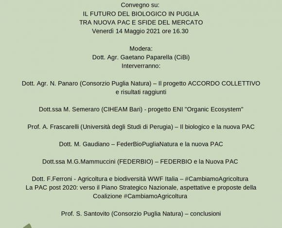 IL FUTURO DEL BIOLOGICO IN PUGLIA